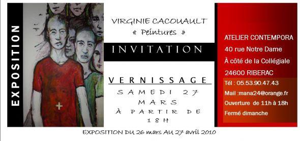 Vernissage De L Exposition De Virginie Cacouault Par Virginie Cacouault
