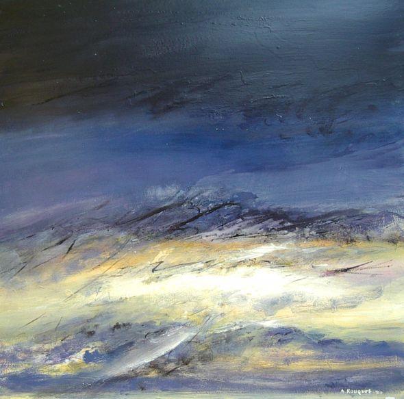 Paysages abstraits et cr atures de r ve galerie des - Peinture bayonne ...