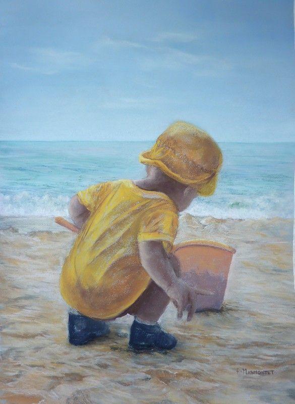 Exposition : Peintures Huiles Et Pastels Par Françoise Masmontet