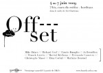 "Exposition Exposition collective ""Off- - -set"""